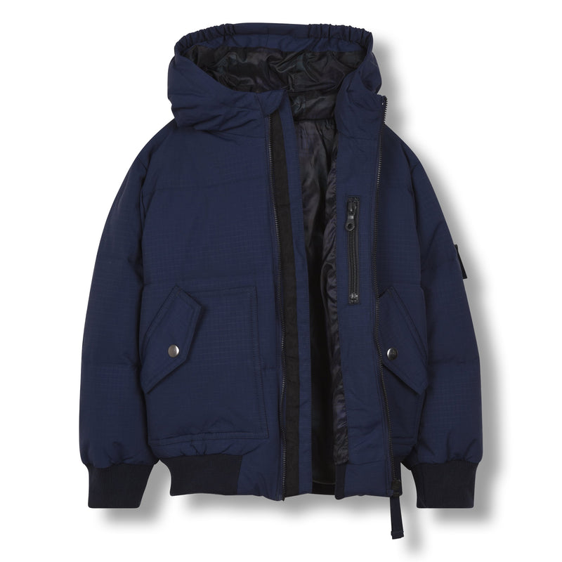 SNOWMOVE SAILOR BLUE-VESTES & MANTEAUX-FINGER IN THE NOSE-Maralex Paris