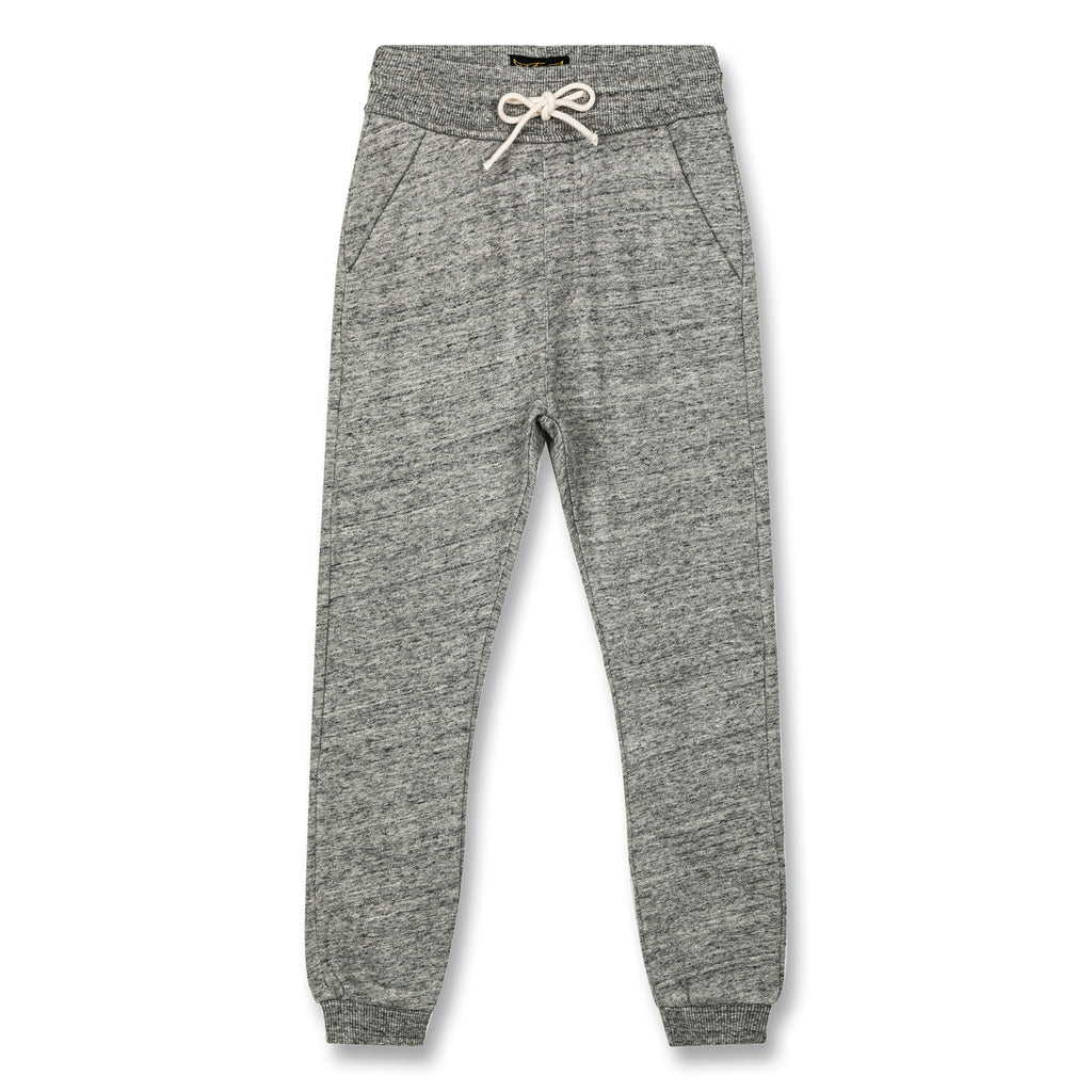 SPRINT HEATHER GREY-PANTALONS & JOGGINGS-FINGER IN THE NOSE-Maralex Paris