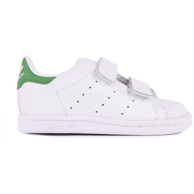 Stan Smith Velcros Vert (BB & Kids)-BASKETS & SNEAKERS-ADIDAS-Maralex Paris