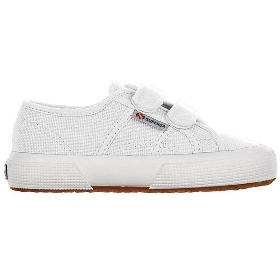 Superga Velcros Blanc-Fille-SUPERGA-Maralex Paris