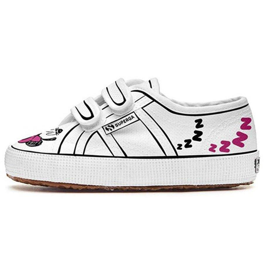 Superga Velcros Minnie-Fille-SUPERGA-Maralex Paris (1976264589375)