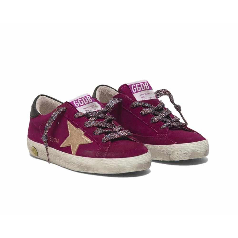Superstar Fushia Suede-BASKETS & SNEAKERS-GOLDEN GOOSE-Maralex Paris (1976286314559)