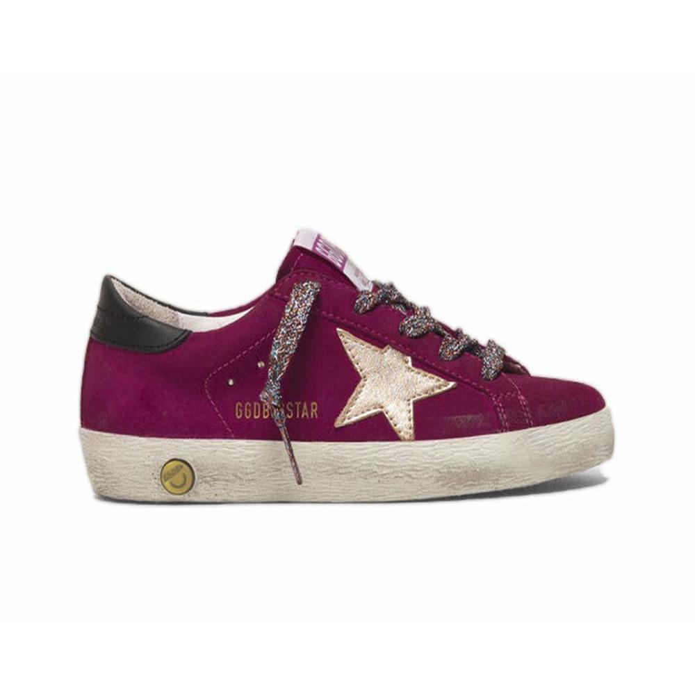 Superstar Fushia Suede-BASKETS & SNEAKERS-GOLDEN GOOSE-Maralex Paris