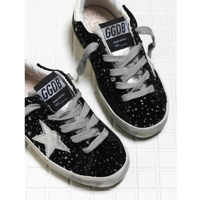 Superstar Night Velvet W Stars-Fille-GOLDEN GOOSE-Maralex Paris
