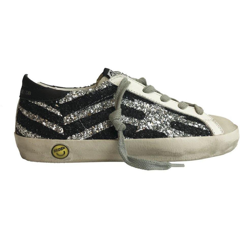 Superstar Silver Glitter-Bébé fille-GOLDEN GOOSE-Maralex Paris (1976230412351)
