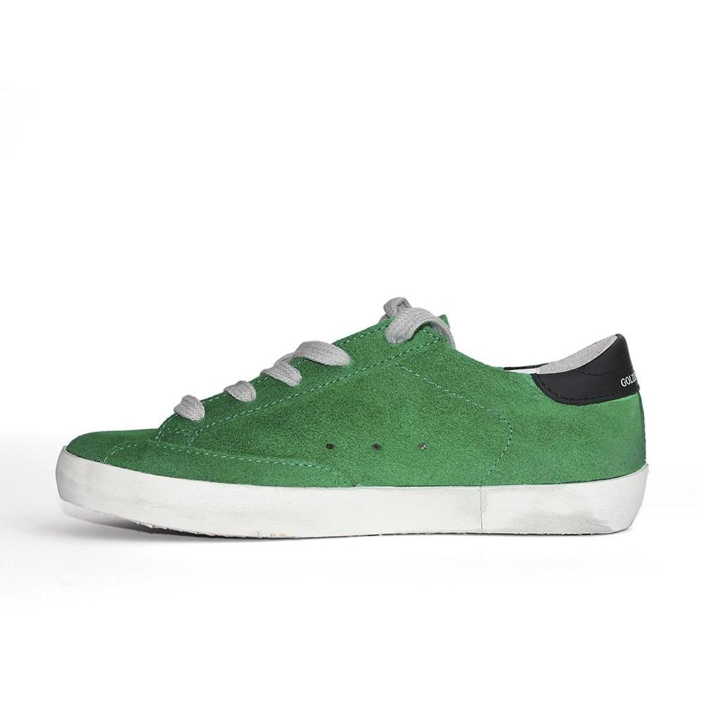 Superstar Verte Suede-BASKETS & SNEAKERS-GOLDEN GOOSE-Maralex Paris (1976286412863)