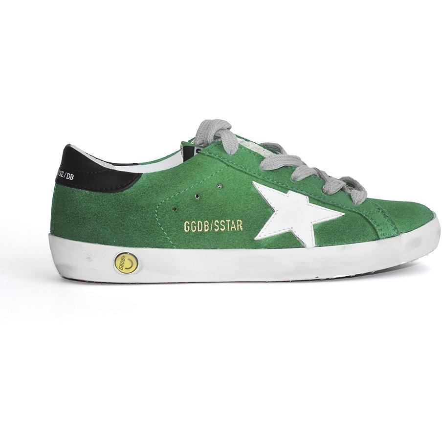 Superstar Verte Suede-BASKETS & SNEAKERS-GOLDEN GOOSE-Maralex Paris
