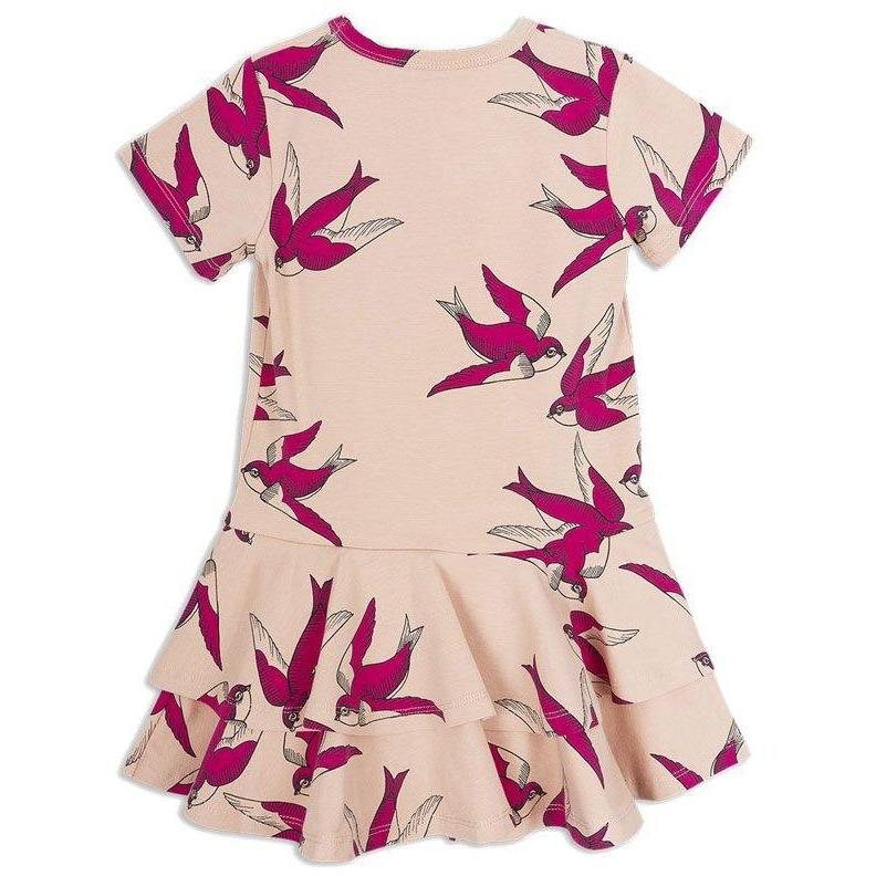 Swallows Dress-Fille-MINI RODINI-Maralex Paris