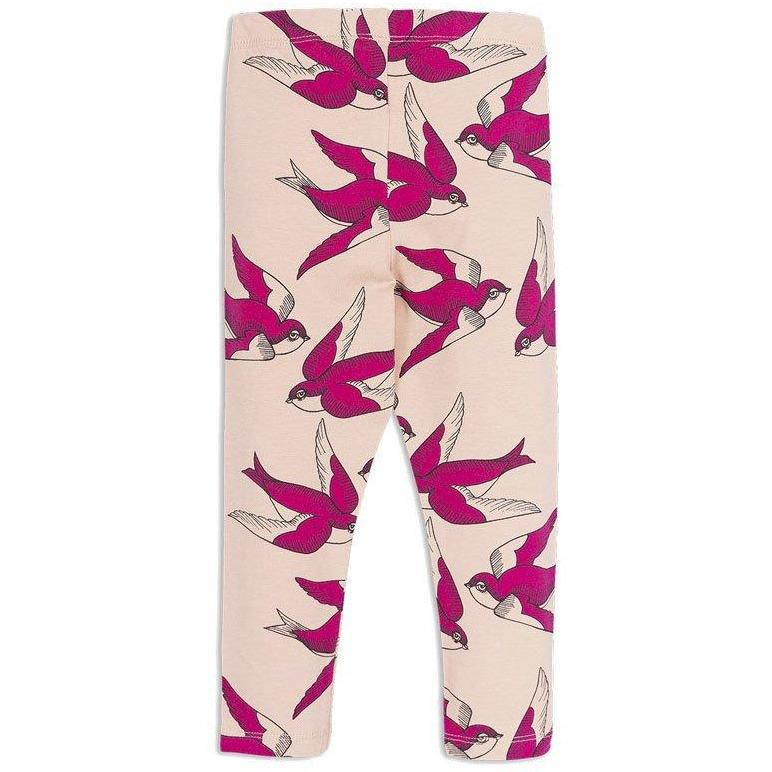 Swallows Leggings-Fille-MINI RODINI-Maralex Paris