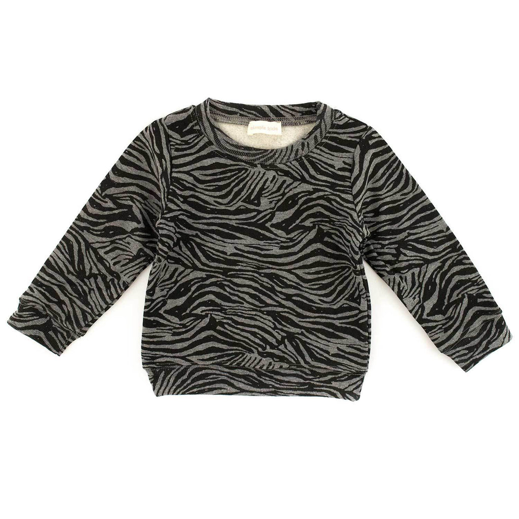 Sweat Zebra-Bébé fille-SIMPLE KIDS-Maralex Paris