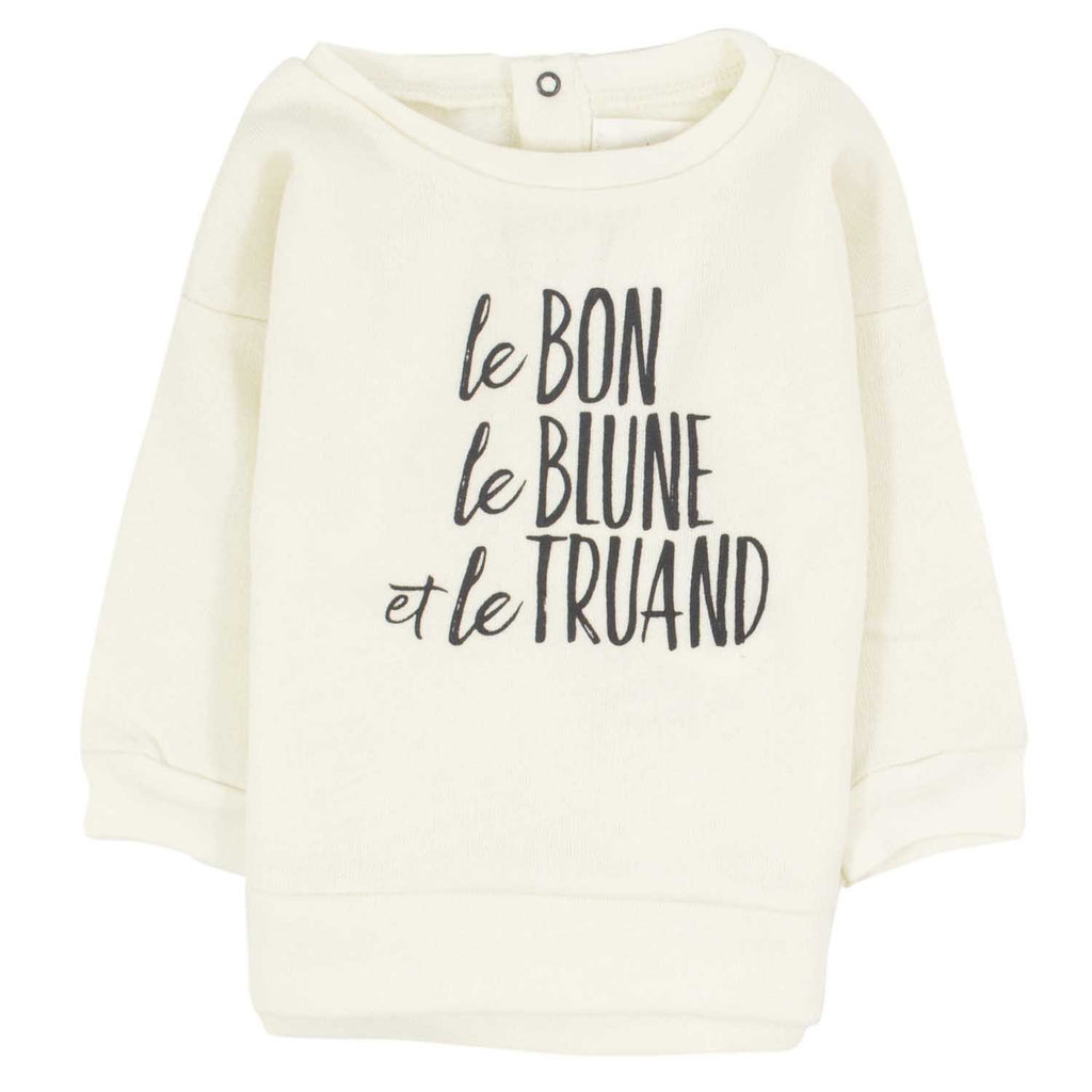 Sweatshirt Blondin-Bébé fille-BLUNE-Maralex Paris