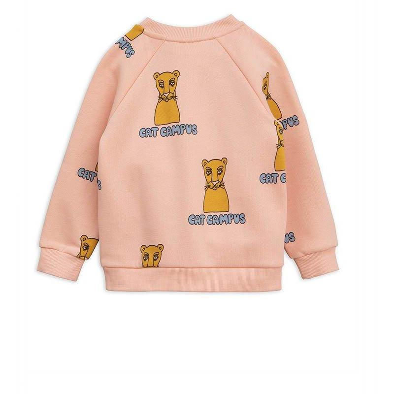 Sweatshirt Cat Campus-Fille-MINI RODINI-Maralex Paris