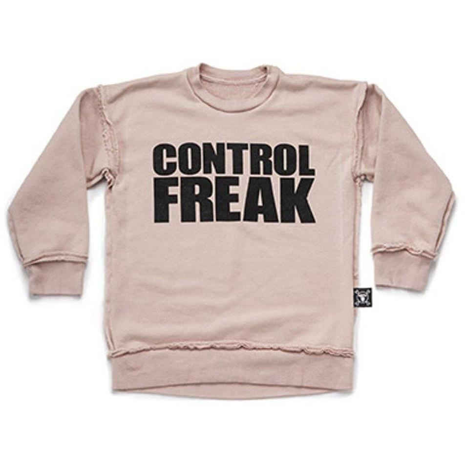 Sweatshirt Control Freak-Fille-NUNUNU-Maralex Paris (1976172314687)