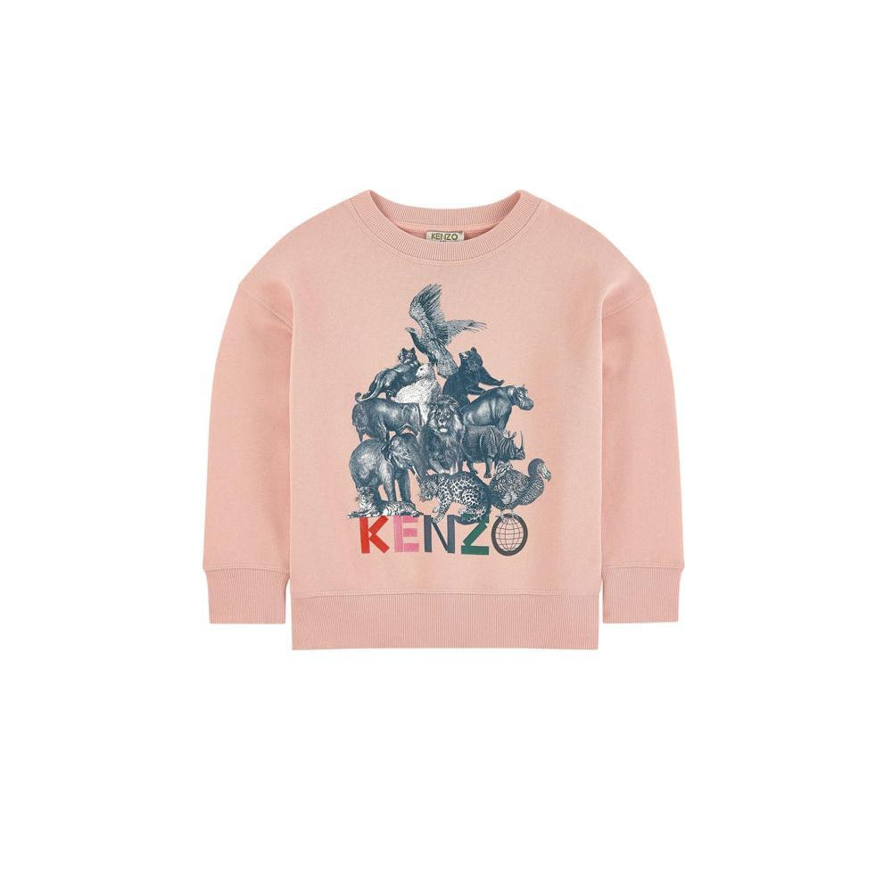 Sweatshirt Crazy Jungle-A trier FASTMAG-KENZO KIDS-Maralex Paris