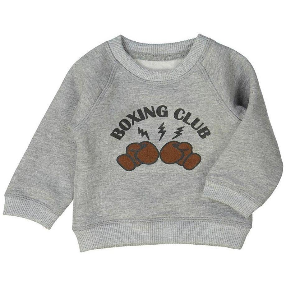 Sweatshirt James Gris-Bébé garçon-LOUIS LOUISE-Maralex Paris