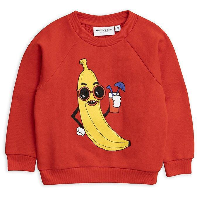 Sweatshirt Red Banana-Fille-MINI RODINI-Maralex Paris