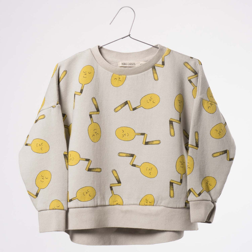 Sweatshirt Spoons-Fille-BOBO CHOSES-Maralex Paris