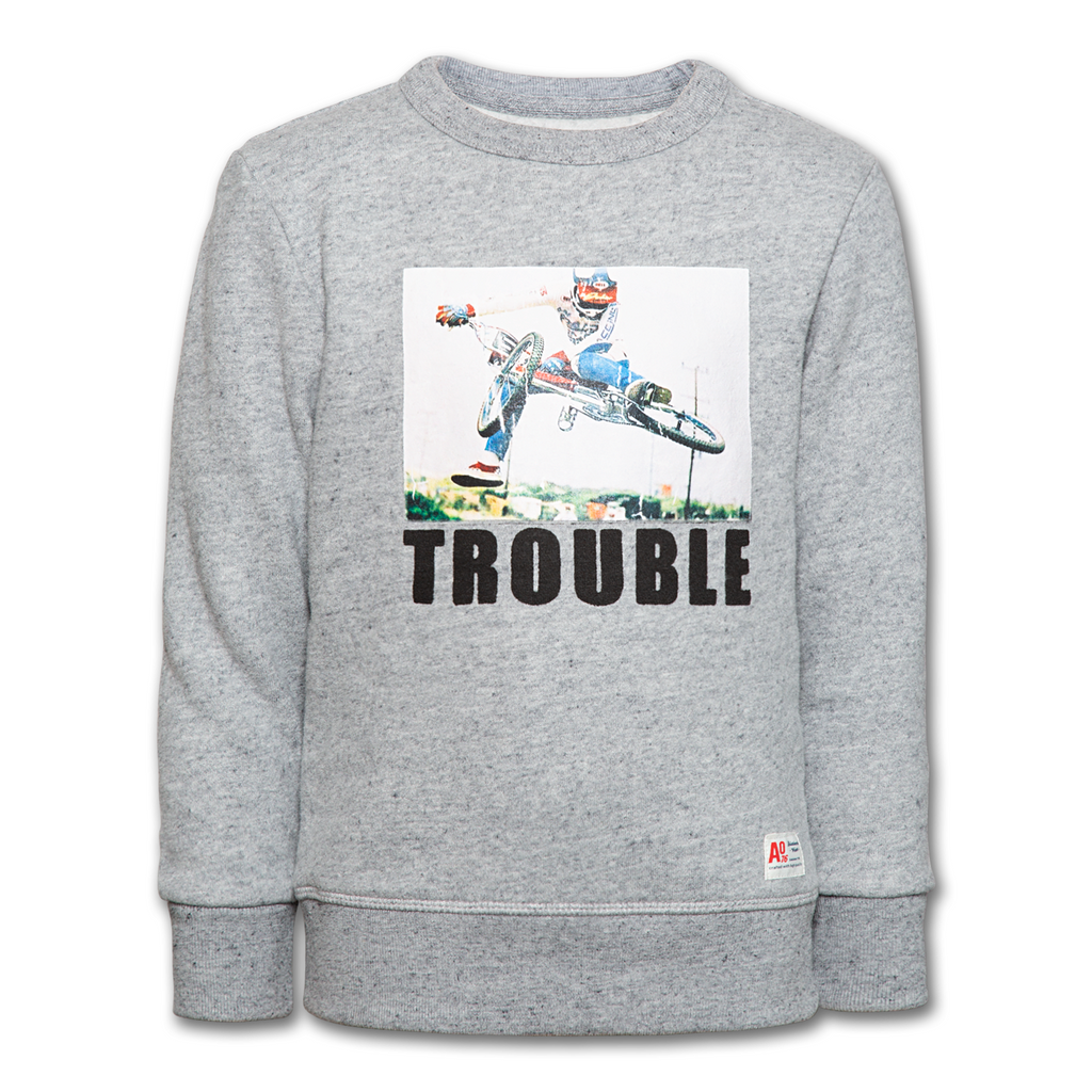SWEATSHIRT TROUBLE-SWEATS & GILETS-AO76-Maralex Paris