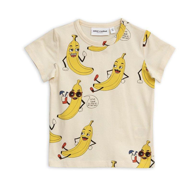 T-shirt Banana-Fille-MINI RODINI-Maralex Paris