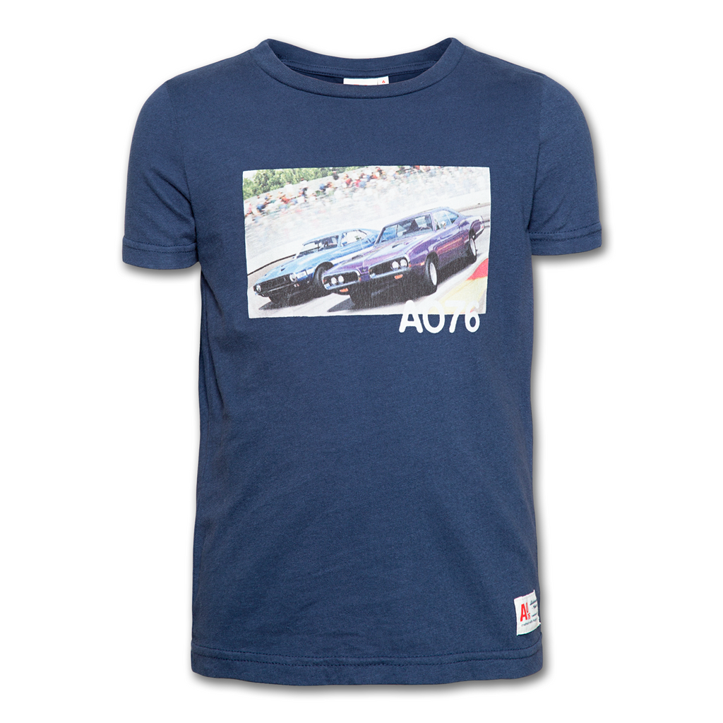 T-SHIRT CAR-TOPS & T-SHIRTS-AO76-Maralex Paris