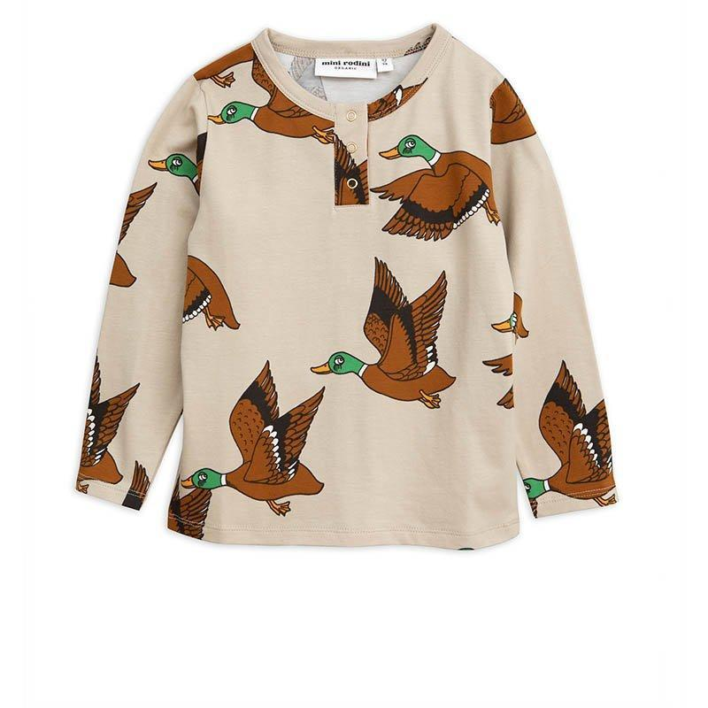 T-shirt Ducks Grandpa-Fille-MINI RODINI-Maralex Paris