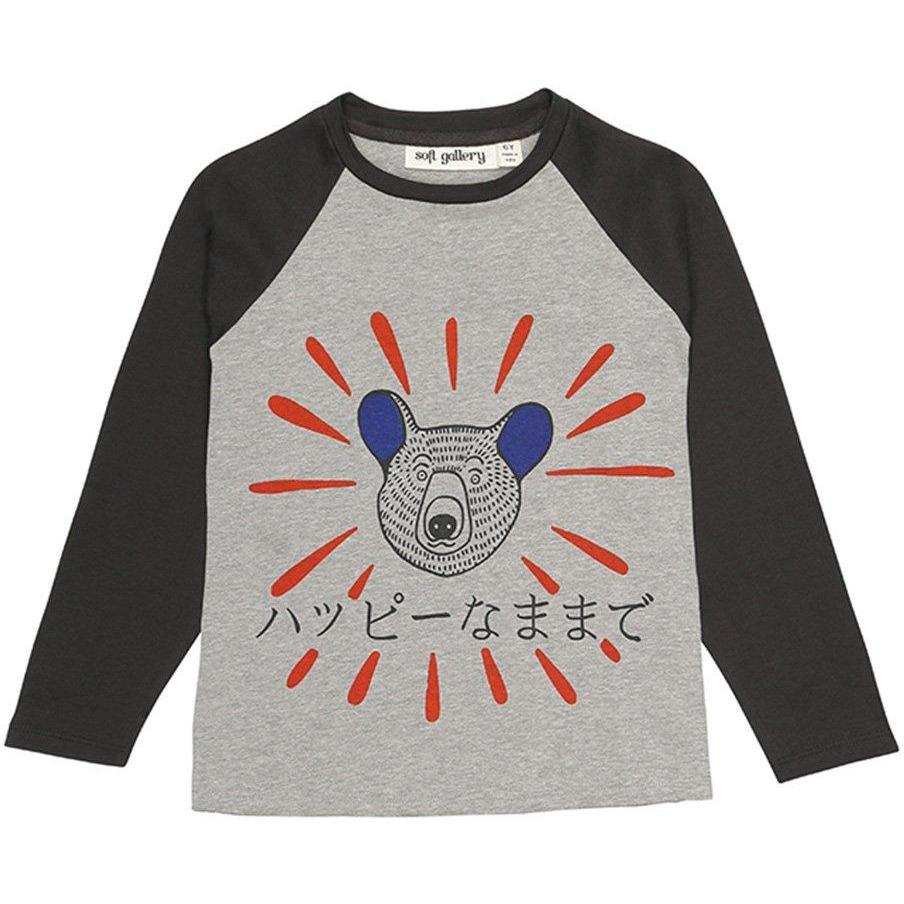 T-shirt Happy Bear-Fille-SOFT GALLERY-Maralex Paris (1976148197439)