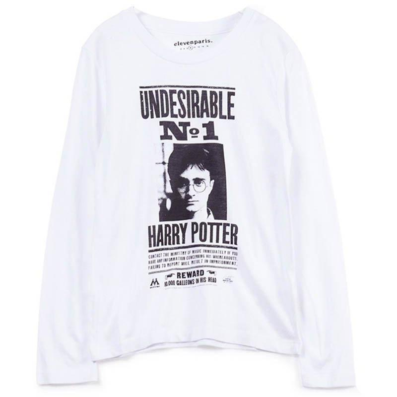 T-shirt Harry Potter-Fille-ELEVEN PARIS-Maralex Paris