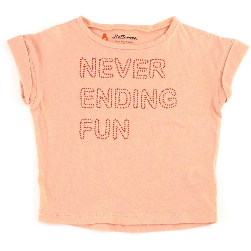 "T-shirt imprimé ""Never Ending Fun""-Fille-BELLEROSE-Maralex Paris (1975309041727)"