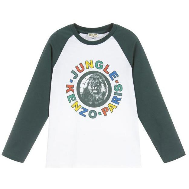 T-shirt Jungle-TOPS & T-SHIRTS-KENZO KIDS-Maralex Paris