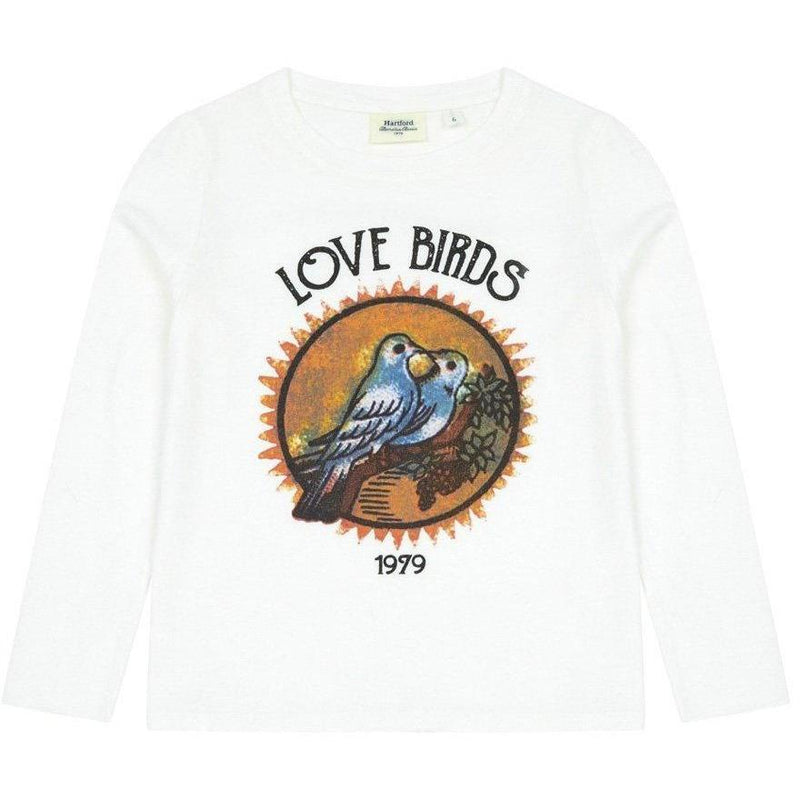 T-shirt Love Birds-Fille-HARTFORD-Maralex Paris (1976135286847)