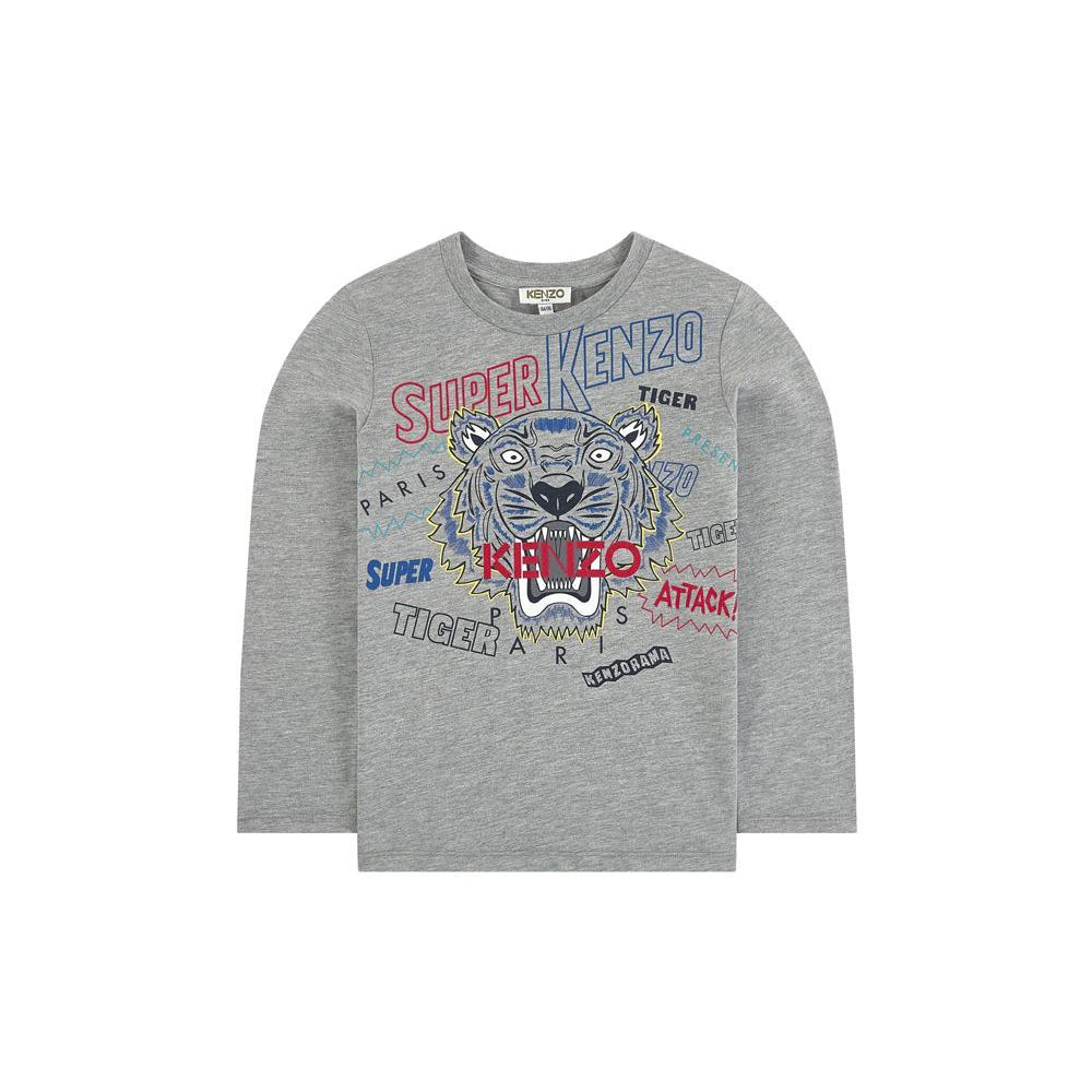 T-shirt Super Tiger-A trier FASTMAG-KENZO KIDS-Maralex Paris