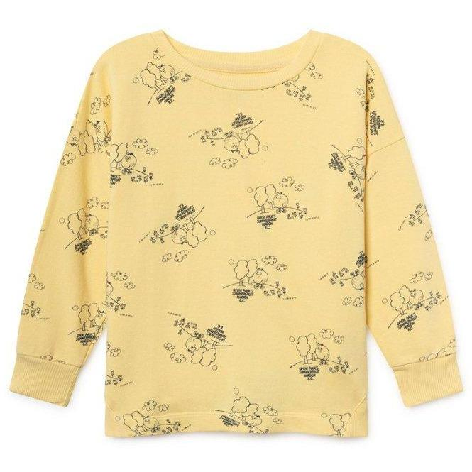 Tangerine Sweatshirt-Fille-BOBO CHOSES-Maralex Paris (1976238309439)