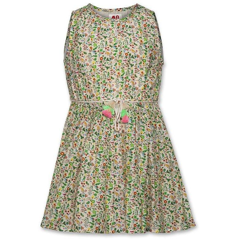 Tantoo Flower Dress-Fille-AO76-Maralex Paris