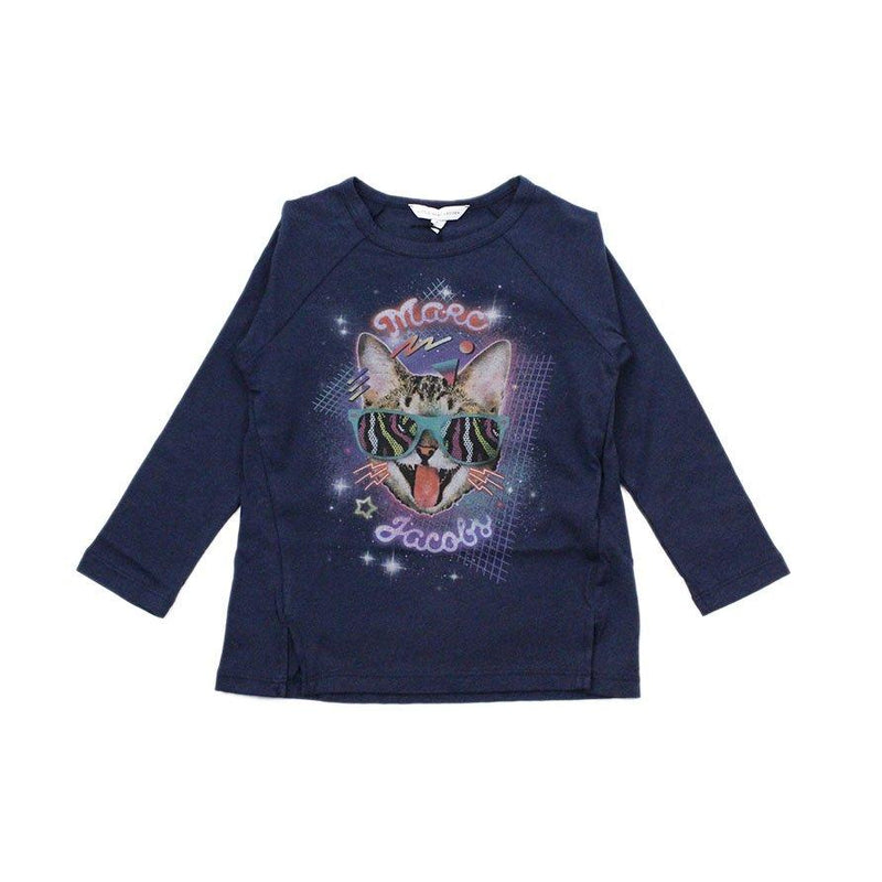 Tee-shirt Cat-Fille-LITTLE MARC JACOBS-Maralex Paris