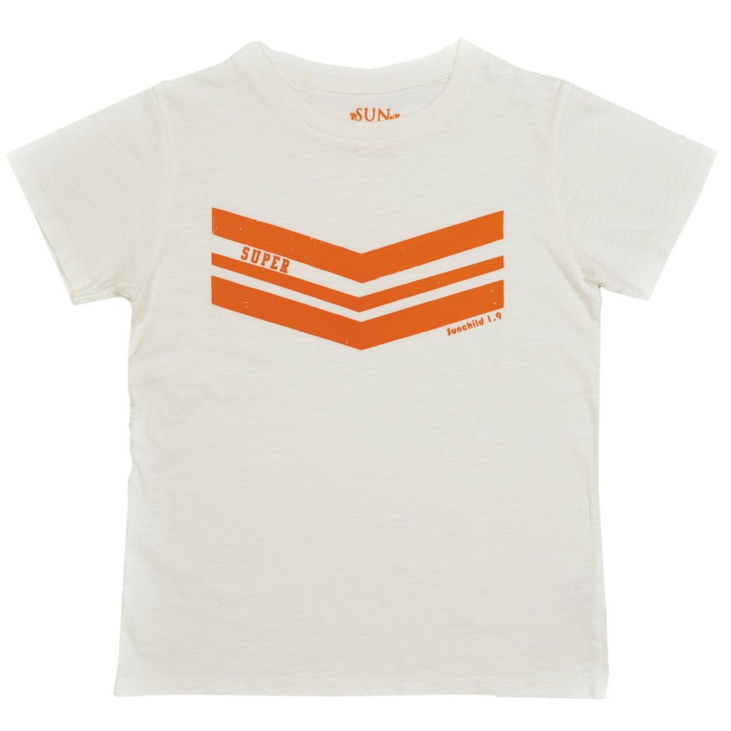 T-shirt Milk Super Stripe