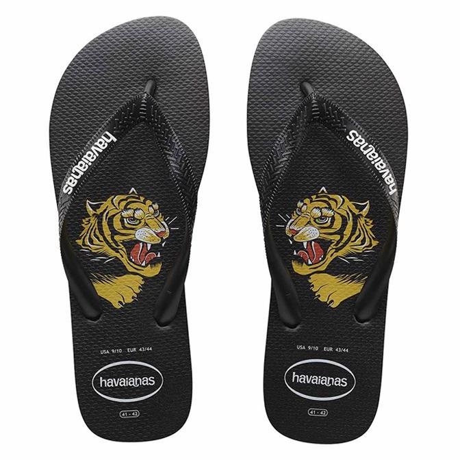 Tongs Top Wild Black-A trier FASTMAG-HAVAIANAS-Maralex Paris