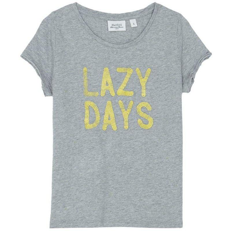 Tshirt Lazy Days-Fille-HARTFORD-Maralex Paris
