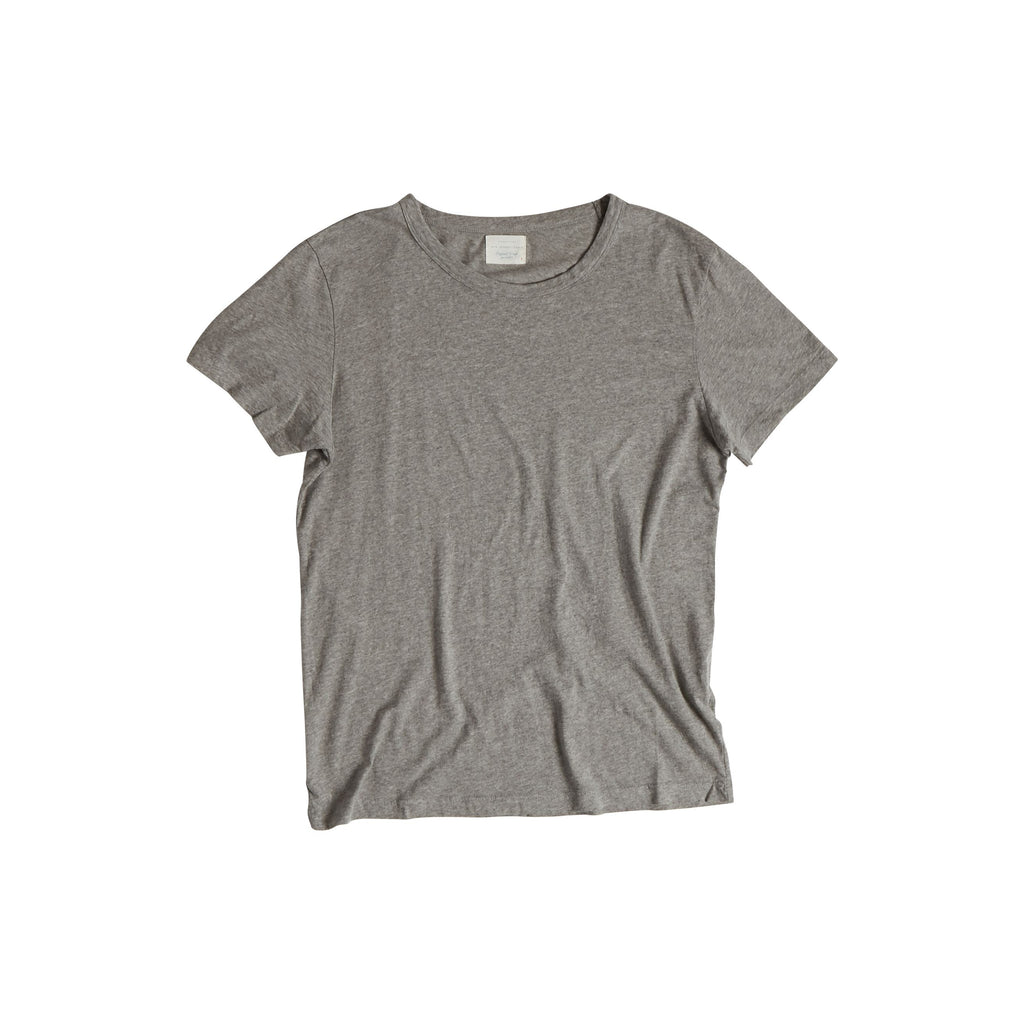 T-Shirt Turbigo Gris Chiné-NEW JERSEY-Maralex Paris