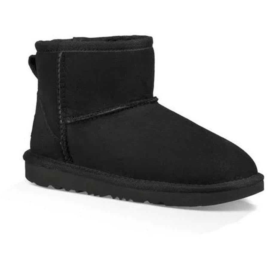 UGG CLASSIC MINI BLACK-BOTTINES & BOOTS-UGG-Maralex Paris