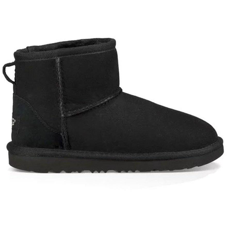 Ugg Classic Mini Black Kids-Fille-UGG-Maralex Paris