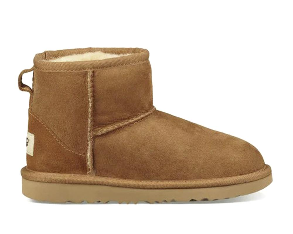UGG CLASSIC MINI CHESTNUT-BOTTINES & BOOTS-UGG-Maralex Paris