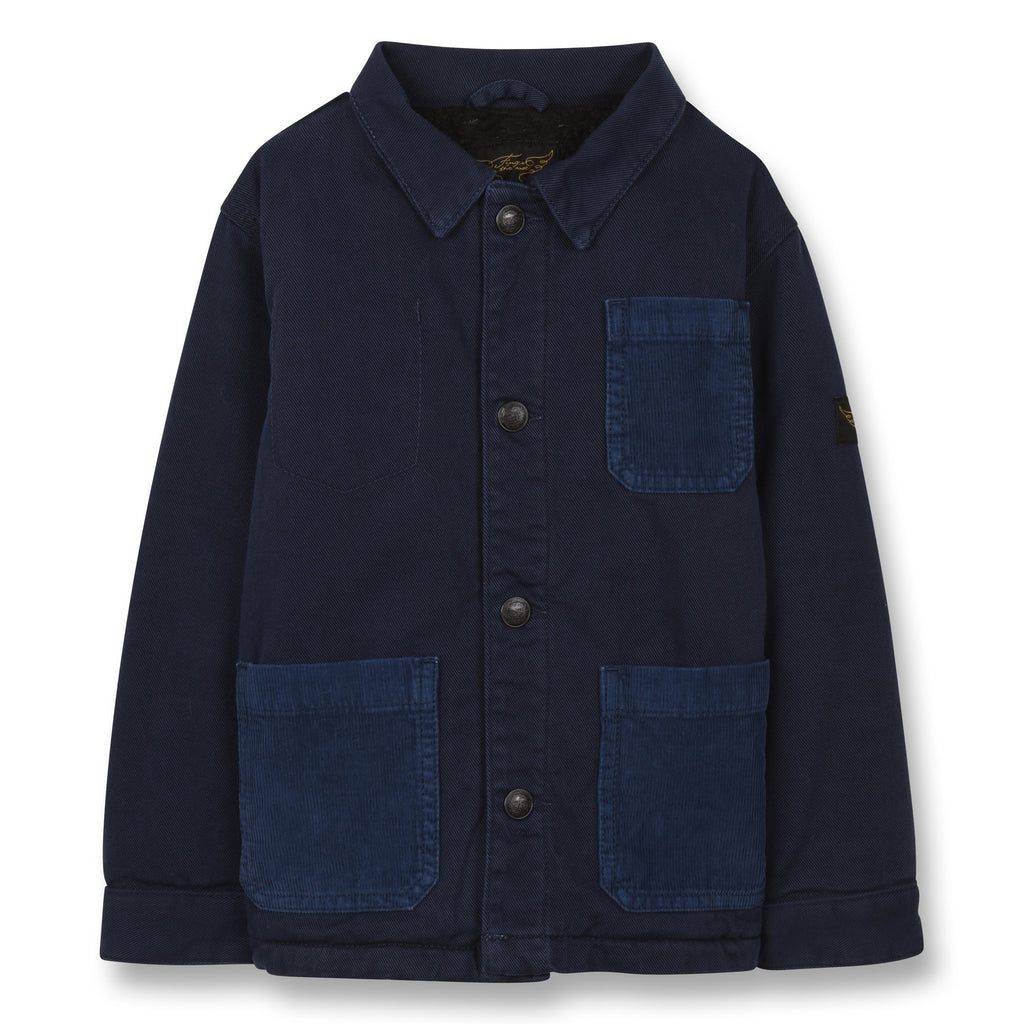 WARREN SAILOR BLUE-VESTES & MANTEAUX-FINGER IN THE NOSE-Maralex Paris