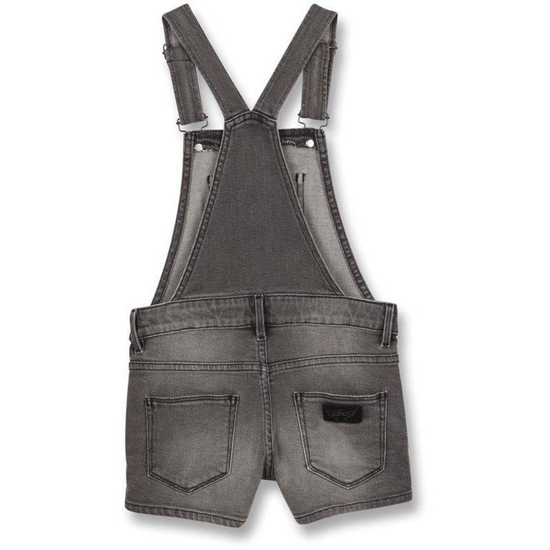 Yumi Grey Denim Short Overall-A trier FASTMAG-FINGER IN THE NOSE-Maralex Paris