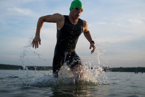 SolRX Waterblock Water Resistant Sunscreen is waterproof and sweatproof. SolRX is best for triathletes and swimmers