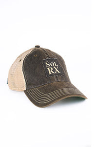 SolRx Black Wash Hat