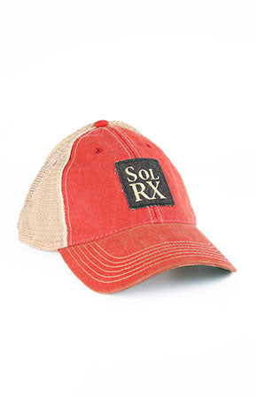 SolRx Red Wash Hat