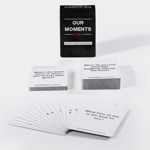 Our Moments Couples Card Conversation Starters for Great Relationships Solitaire Make Fun Board Game Toy