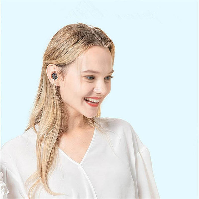 New F15 TWS bluetooth 5.0 Smart Touch Three Power Display Earphone Wireless Waterproof HIFI Sport Headphone with HD Call