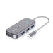 BlitzWolf® BW-TH10 6-in-1 USB-C Data Hub 6 Ports USB3.0 Docking Station Type-C PD Charging USB Adapter Converter