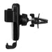 10W Qi Wireless Fast Charge Gravity Linkage Auto Lock Car Air Vent Holder Mount for iPhone Mobile Phone